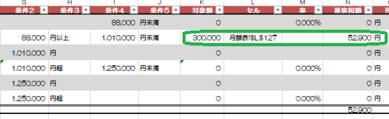 H27源泉徴収税額乙欄_23