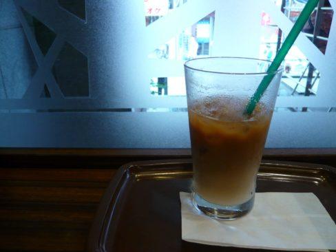 アイスコーヒーの画像