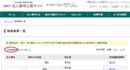 国税庁_法人番号公表サイト_検索結果の画像_2