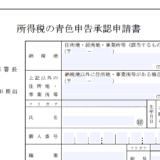 h28_青色申告_承認申請書の画像