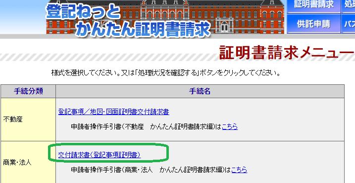 ネット ログイン 登記 お問い合わせトップ