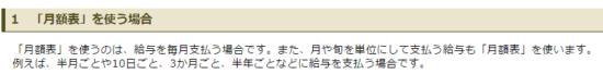 h29_源泉徴収税額表_月額表の対象となる給与の画像