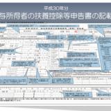 平成30年分-扶養控除等申告書の記載例のアイキャッチ画像