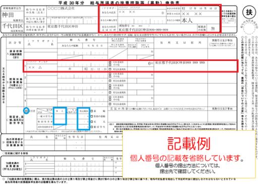 平成30年分-扶養控除等申告書記載例-321