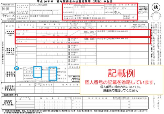 平成30年分-扶養控除等申告書記載例-351