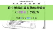 平成31年(2019年分)-給与所得の源泉徴収税額表(月額表)の見方-アイキャッチ3