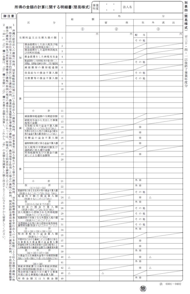 h300401以後-別表四(簡易様式)