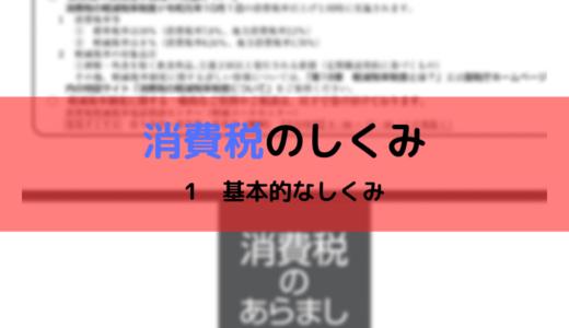 消費税のしくみ【1 基本的なしくみ】(令和元年(2019年)分)
