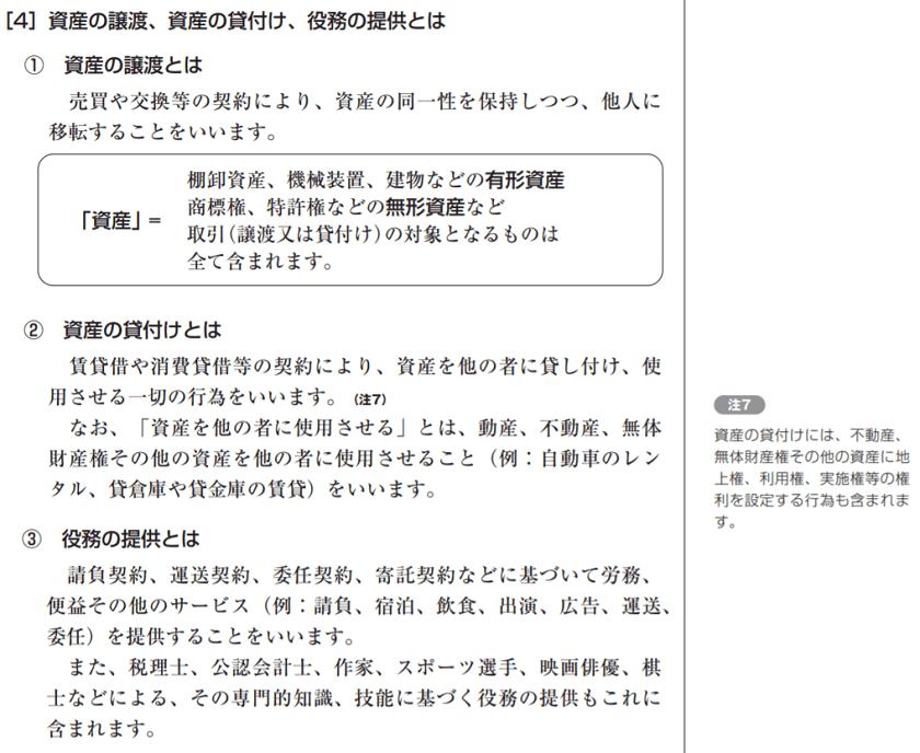 消費税のしくみ【2 どんな取引が課税対象】(令和元年(2019年)分 ...