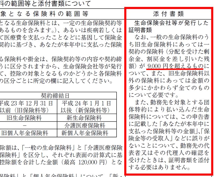 令和元年分-保険料控除申告書の書き方-17