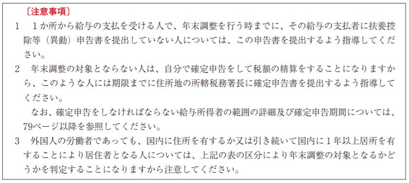 令和元年(2019年)-年末調整の対象となる人ならない人-13