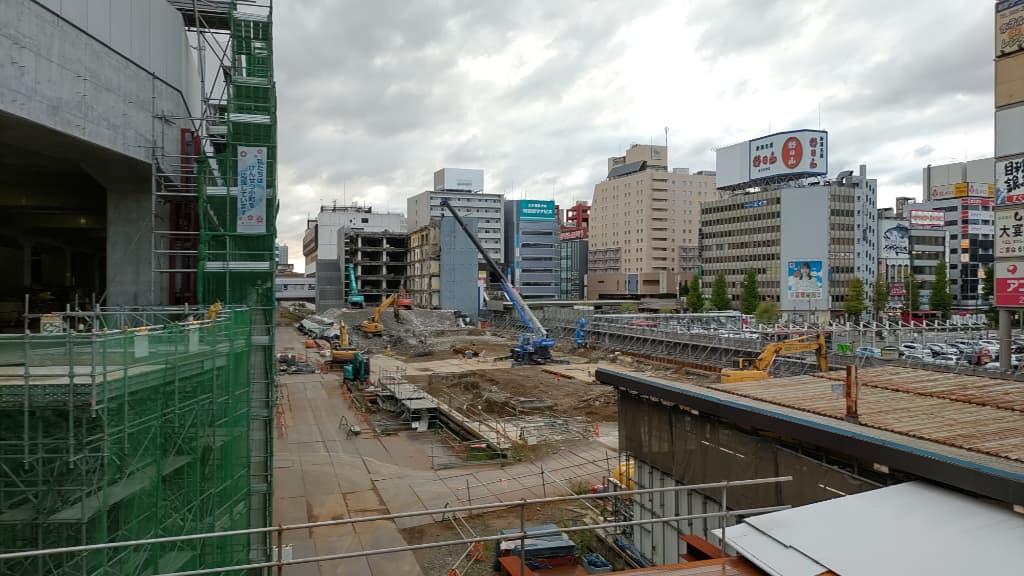 2021年10月-新潟駅周辺